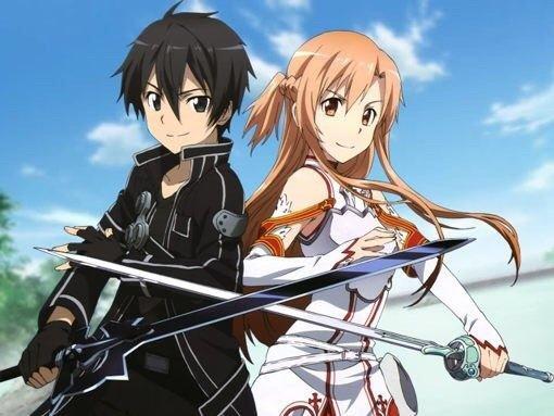 Kirito And Asuna Anime couple