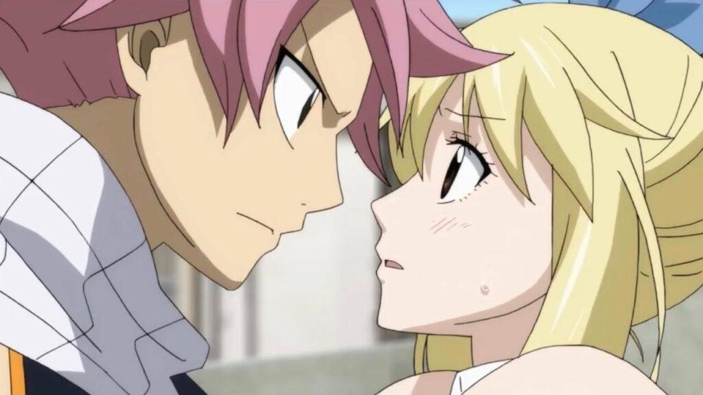 Lucy And Natsu Anime couple