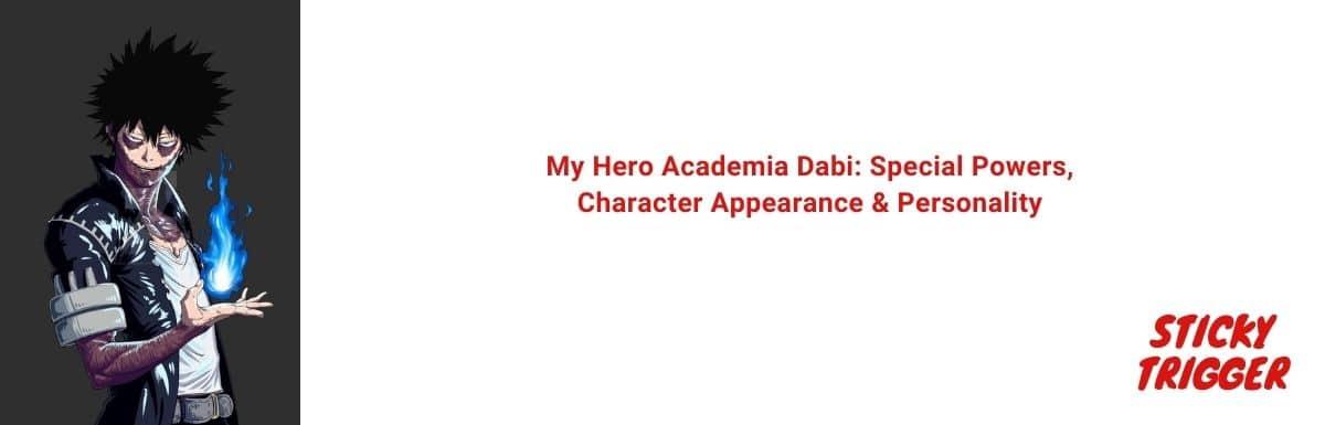 My Hero Academia Dabi