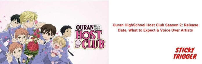Ouran HighSchool Host Club Season 2 Release Date, What to Expect & Voice Over Artists