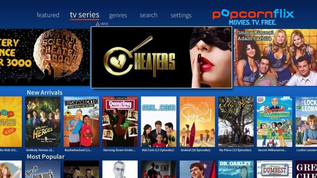 Popcornflix Sites Like Solarmovie