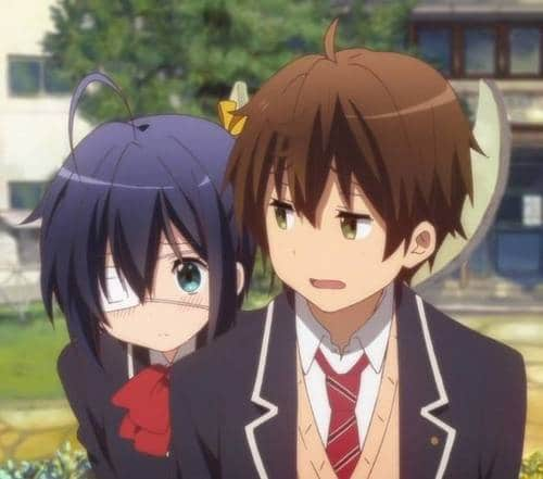 Rikka And Yuuta Anime couple