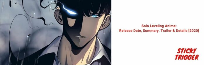 Solo Leveling Anime Release Date, Summary, Trailer & Details 2020