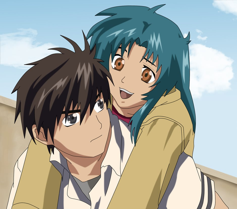 Sousuke And Kaname Anime Couple