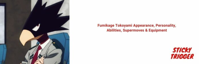 Fumikage Tokoyami Appearance, Personality, Abilities, Supermoves & Equipment [2020]