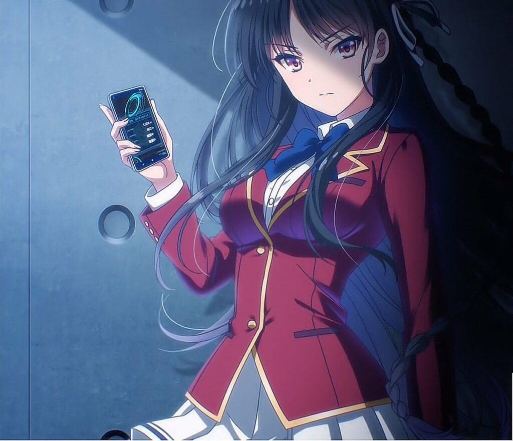 Akari Kito as Suzune Horikita